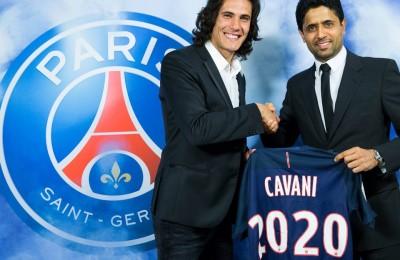 Edinson Cavani rinnova col PSG. A Parigi fino al 2020