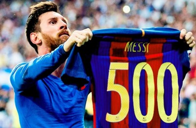 Barcellona e Real Madrid in goleada, Messi a quota 500 (ma fa scena muta in Champions)