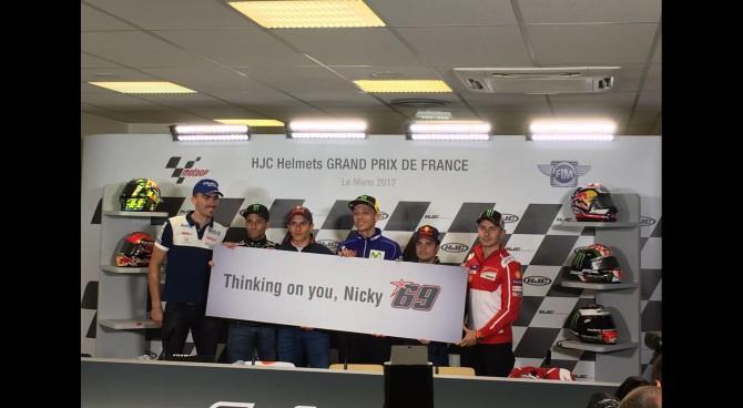 """Valentino Rossi su Nicky Hayden: """"Un grande pilota, ma soprattutto una grande persona"""""""