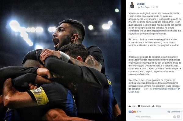 Inter, altro che scuse: multa punitiva a Gabigol e Joao Mario