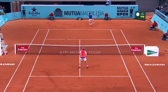 Torneo di Madrid, colpo sensazionale di Cuevas contro Zverev
