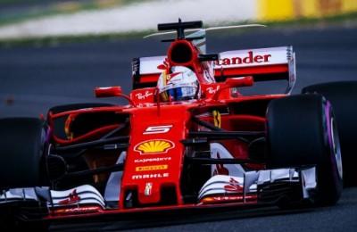 Doppietta Ferrari e Vettel a +25 su Hamilton, l'auto di Wehrlein s'appoggia su due ruote