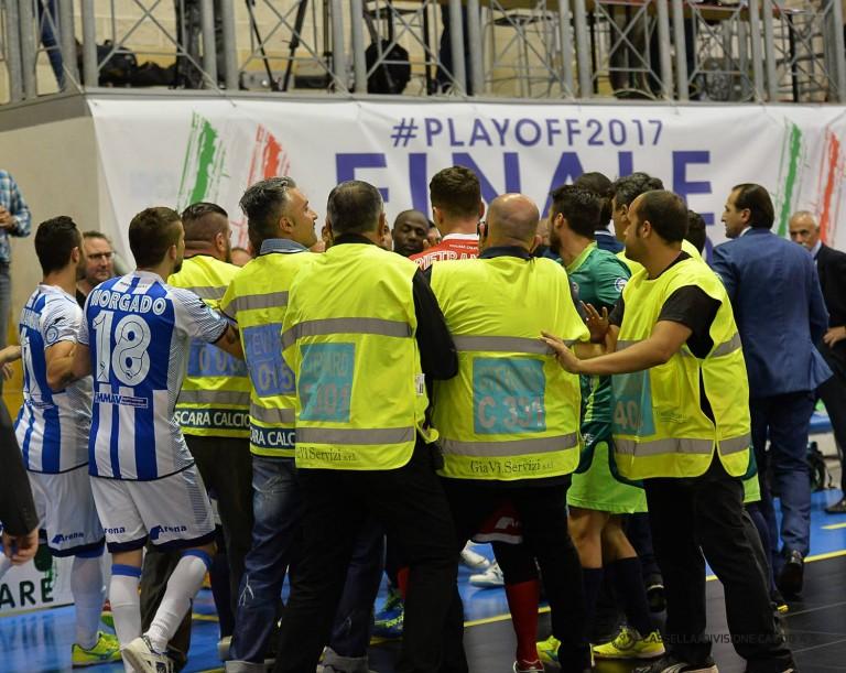 Rissa tra Pescara e Luparense di calcio a 5