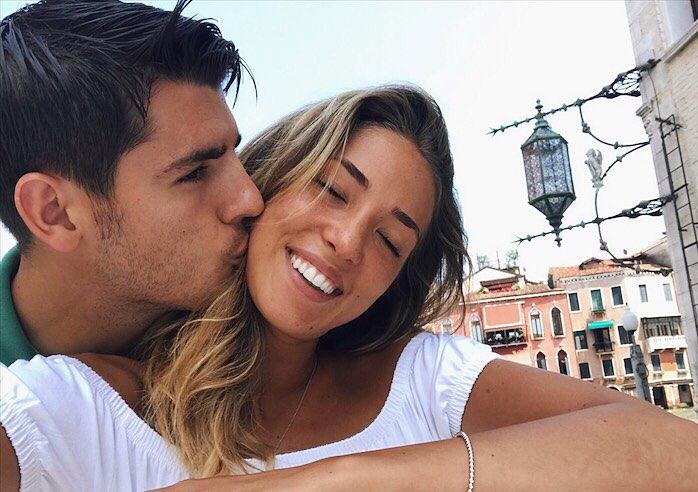 Auguri Matrimonio Cristiano : Morata si sposa a venezia con alice campello alle nozze