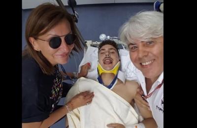 """Baldassarri parla dopo l'incidente: """"Sono in condizioni quasi buone"""""""