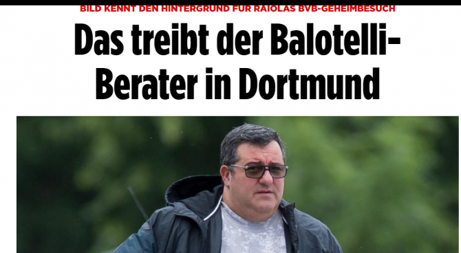 Clamoroso Raiola: