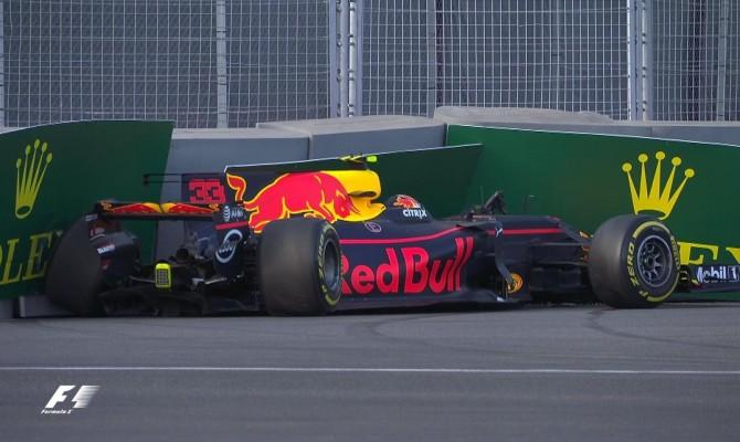 Gp Azerbaigian, Verstappen 1° nelle libere, solo 5° Vettel