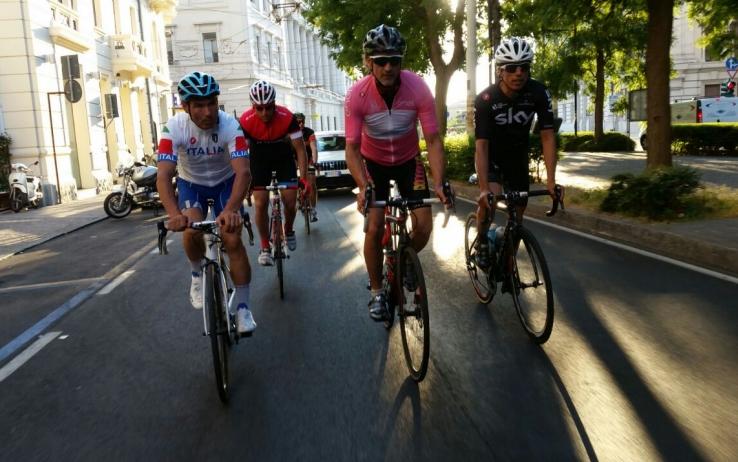 Nicola in bici da Crotone a Torino: