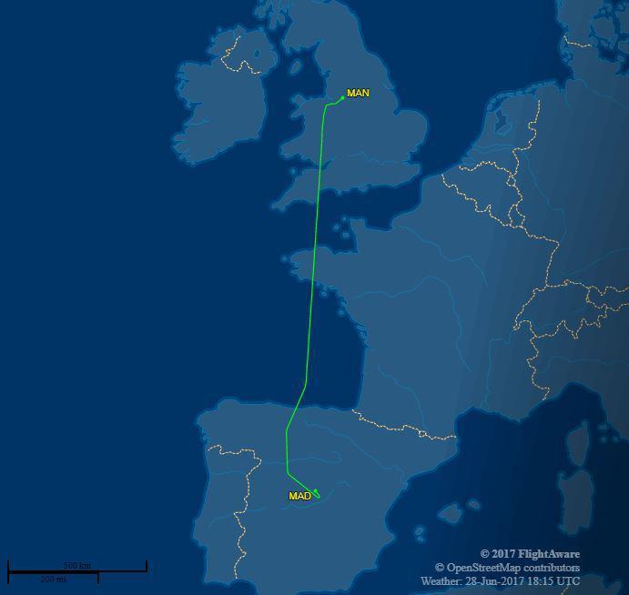 Jet Privato Volo Vuoto : Chi c è sull aereo privato morata o lewandowski alla