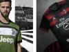 Juve e Milan presentano le terze maglie disegnate dai tifosi