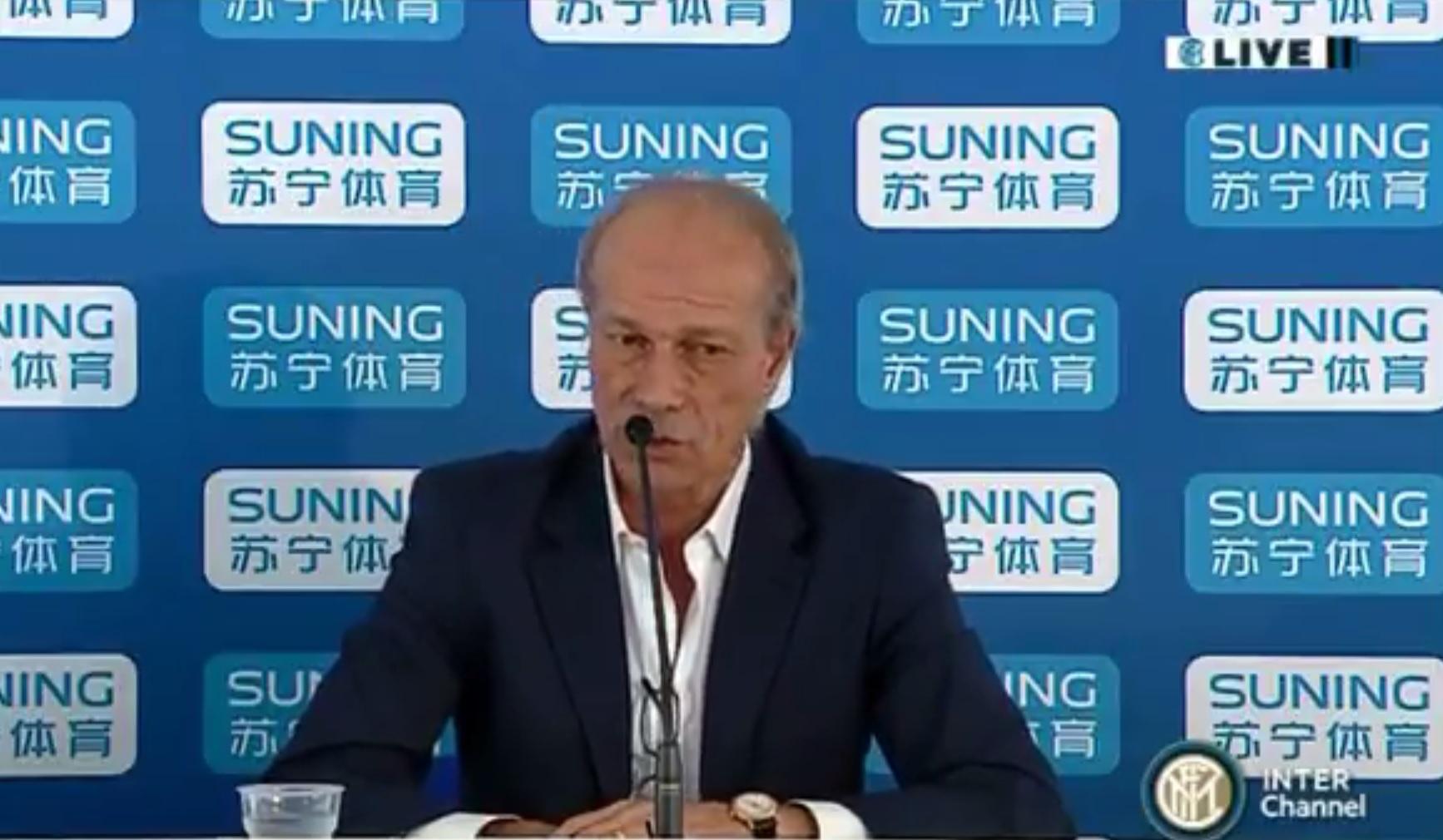 """Parla Sabatini: """"Al momento del grande investimento Suning non si tirerà indietro"""""""