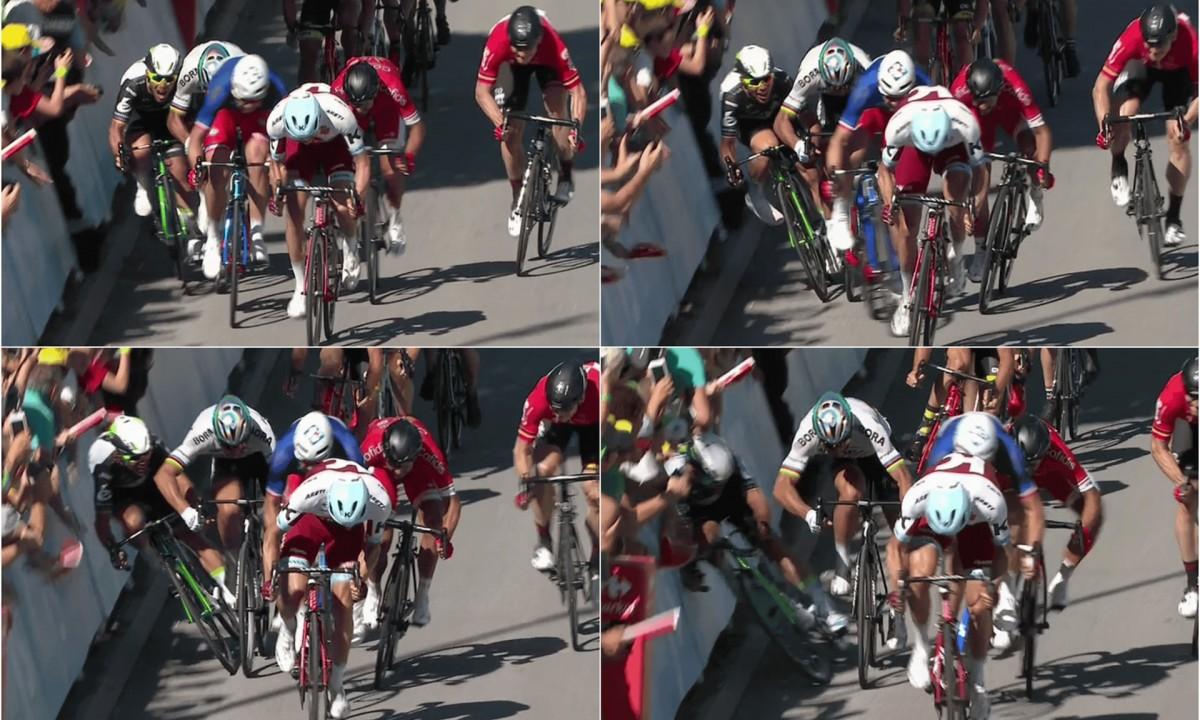Tour de France: Kittel vince al fotofinish la settima tappa