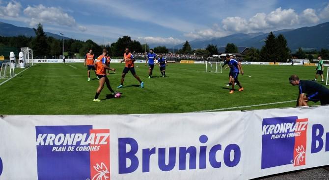 La giovane Inter batte 2-1 il Wattens: Pinamonti e Rover in gol