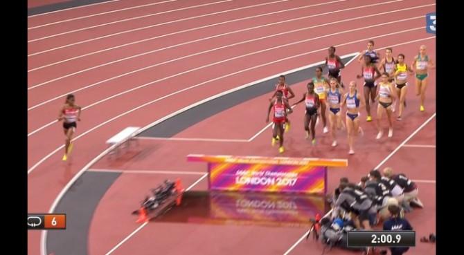 La keniana Chepkoech sbaglia percorso nella finale dei 3000 siepi e perde la medaglia