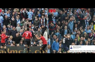 Rooney segna ancora al City: dopo 5 anni davanti agli stessi tifosi!
