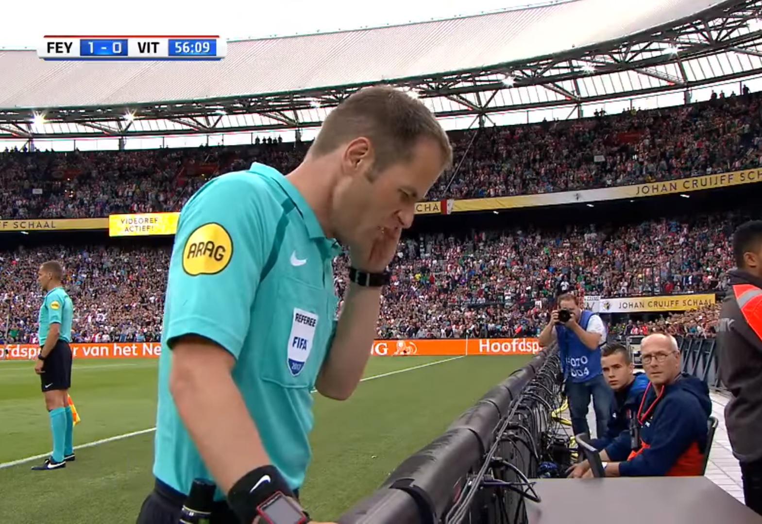 In Olanda frittata VAR: ci mette due minuti e mezzo, nel frattempo si segna un altro goal