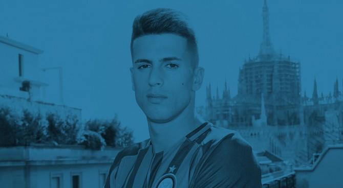 Cancelo si presenta all'Inter: