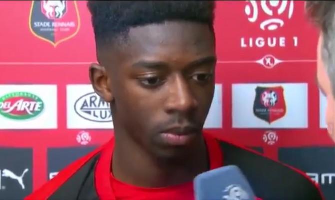 Barcellona: preso Dembélé dal Borussia Dortmund