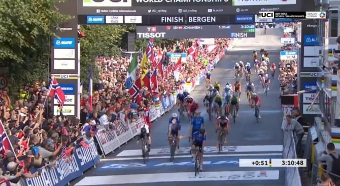 Mondiali di Bergen, prova junior: argento Rastelli, bronzo Gazzoli