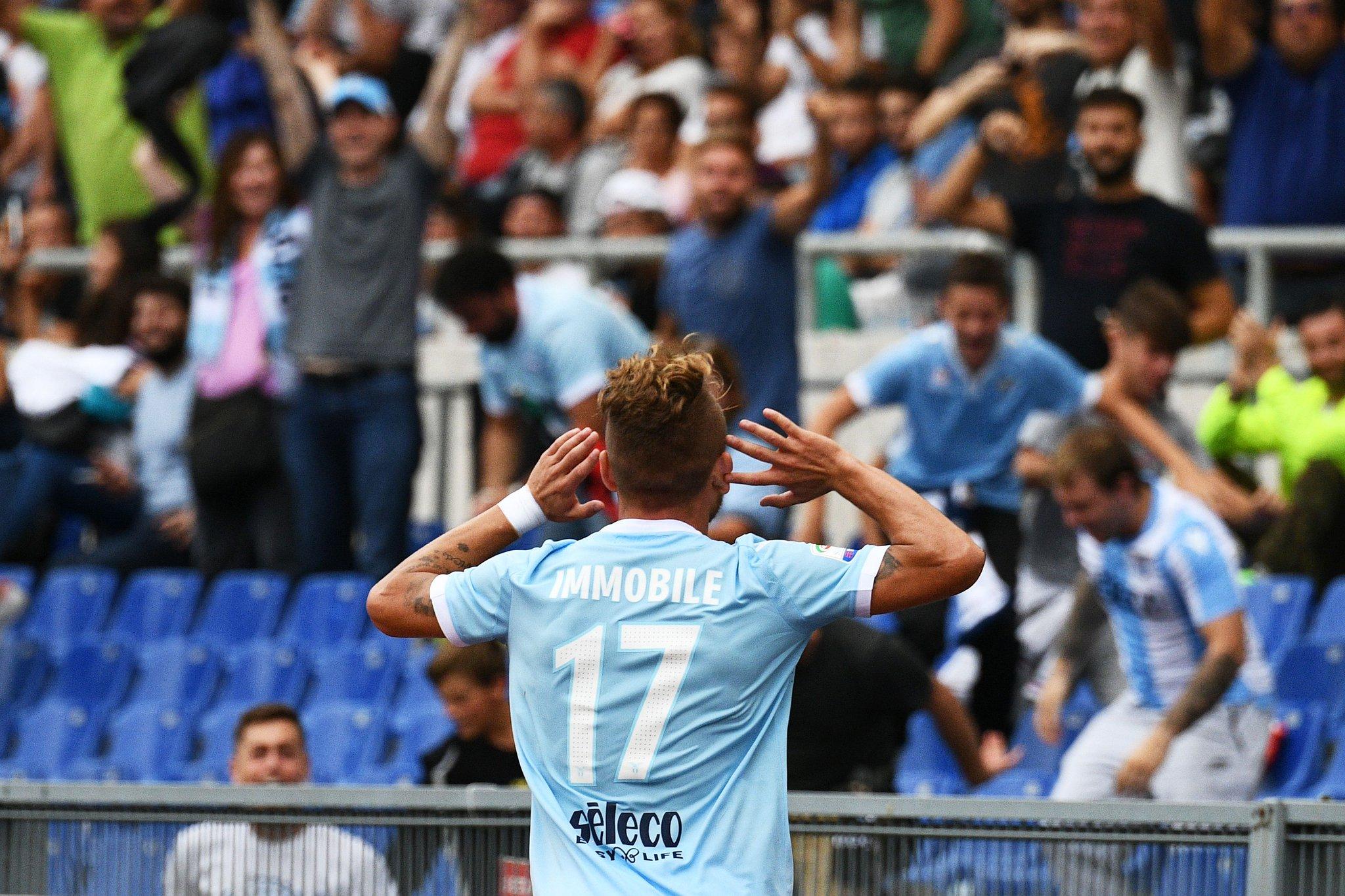 Immobile show, all'Olimpico la Lazio travolge il Milan 4-1