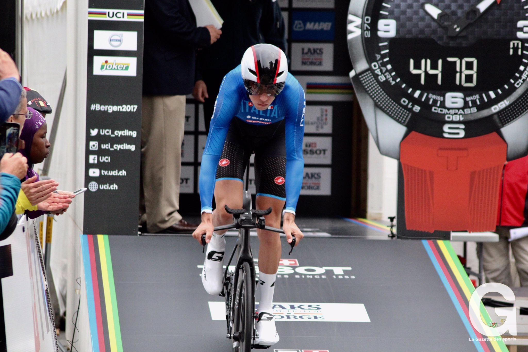 Mondiali di ciclismo, Dumoulin vince la cronometro