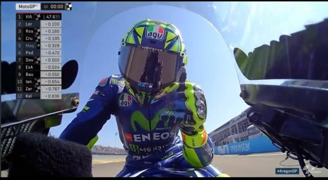 GP Aragon, FP2: Pedrosa il più veloce, Rossi 20mo