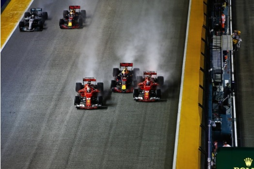 F1: Singapore, Vettel in pole position