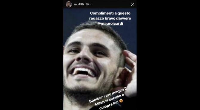 Balotelli esalta Icardi e massacra la dirigenza del Milan!