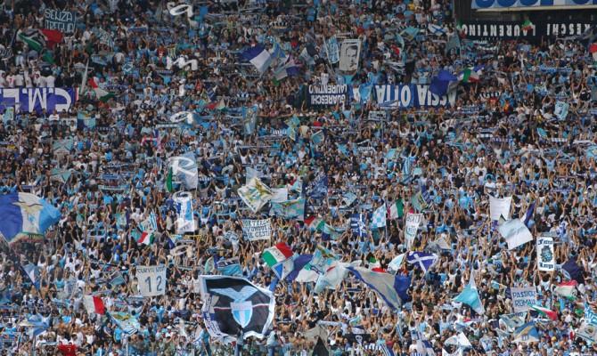 Lazio calcio, Curva Nord chiusa due turni per cori discriminatori