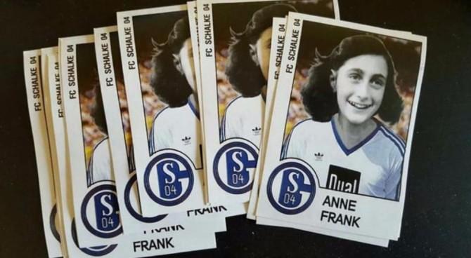 Ignoranza senza confini: altri adesivi di Anna Frank