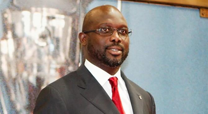 L'ex Milan Weah presidente della Liberia. Congratulazioni di Maldini e Desailly