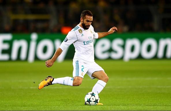 Real Madrid, problemi al cuore per Carvajal: rimarrà a riposo