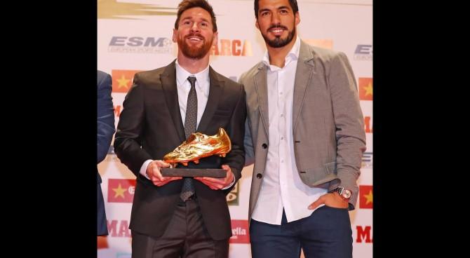 Barcellona: Messi riceve la Scarpa d'oro