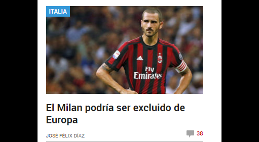 Milan, la UEFA dice no al 'Voluntary Agreement'