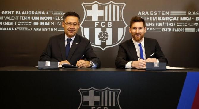 Spagna: Messi ha nel contratto una clausola