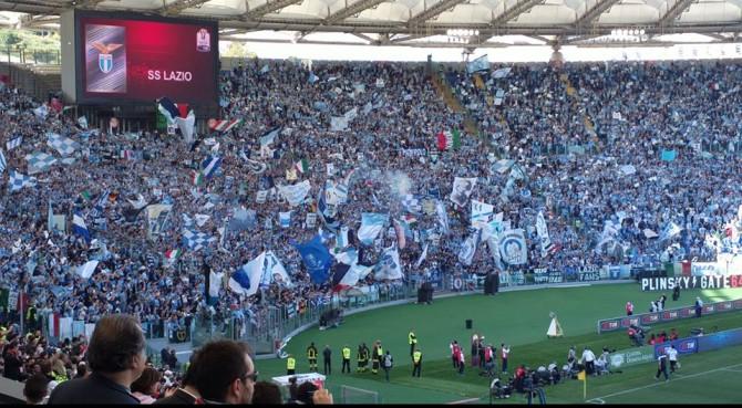 Lazio, Curva Sud aperta contro l'Udinese