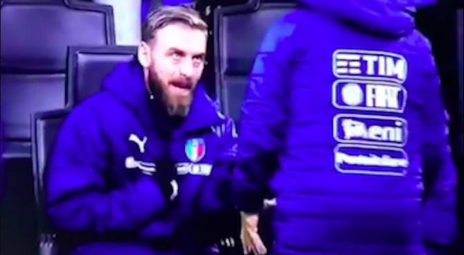 """Il video di De Rossi: """"Che c… c'entro io! Dovemo vince!"""