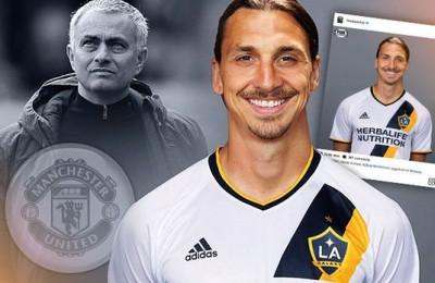 Ibrahimovic dice addio a Mourinho: ha firmato coi Los Angeles Galaxy