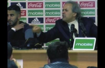 Il ct dell'Algeria Madjer come Trapattoni e Malesani. Incredibile sfogo in conferenza stampa