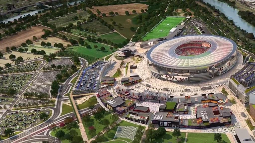 Roma, si sblocca il progetto stadio: intervento anche del Governo