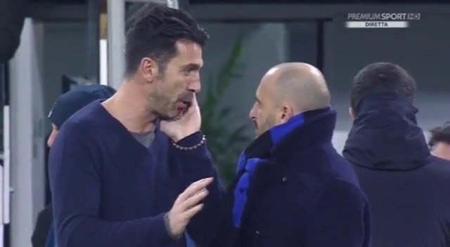 Buffon si confida con Piero Ausilio: