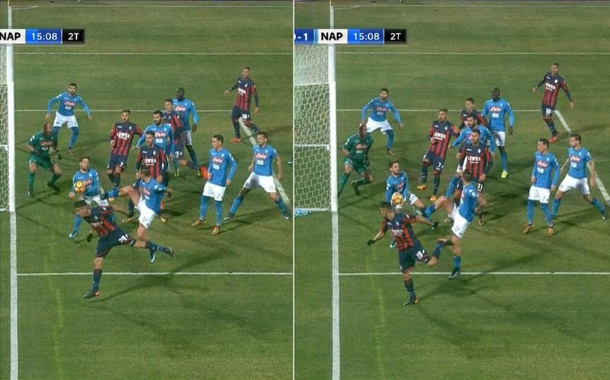 "Zenga: ""Mani netto di Mertens, vorrei capire il VAR"". Sarri: ""Parliamo di calcio"""