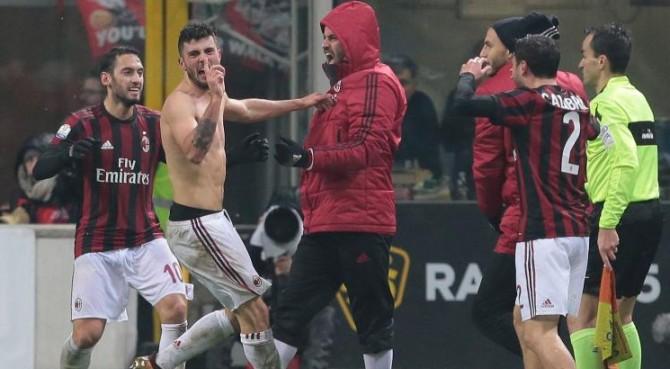 Coppa Italia. Cutrone regala a Gattuso derby e semifinale