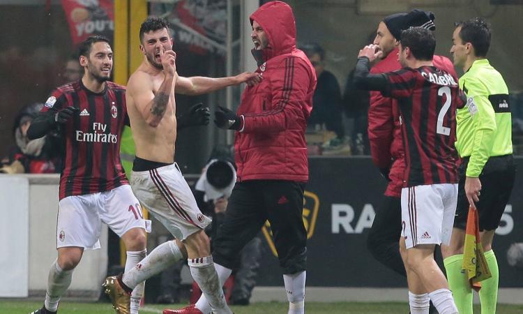 Derby degli orrori, decide Cutrone al 104′. Ha vinto un Milan più volitivo