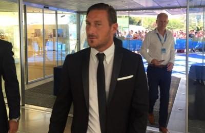 """Shakhtar-Roma, Totti: """"Per quello che c'era è andata bene. Ma campionato più importante"""""""