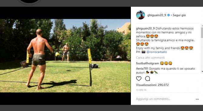 Gonzalo Higuain: nozze segrete in Argentina per il Pipita?