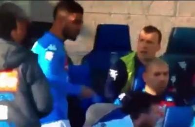 """Atalanta-Napoli, scintille fra Insigne e Sarri: """"Siediti e stai zitto"""""""