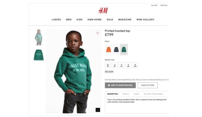 """Boateng contro la H&M: """"Maglietta del 'bimbo scimmia' razzista, non doveva succedere"""""""