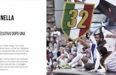 Bonucci lancia il nuovo sito e revoca due scudetti alla Juventus