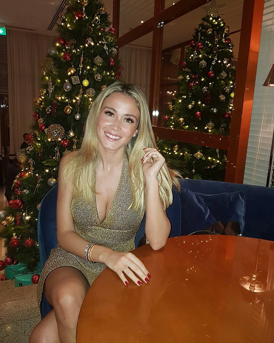 "L'ultima immagine ""natalizia"" di Diletta"